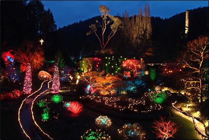 Victoria Gardens Canada >> Christmas at Butchart Gardens - Van Isle Marina
