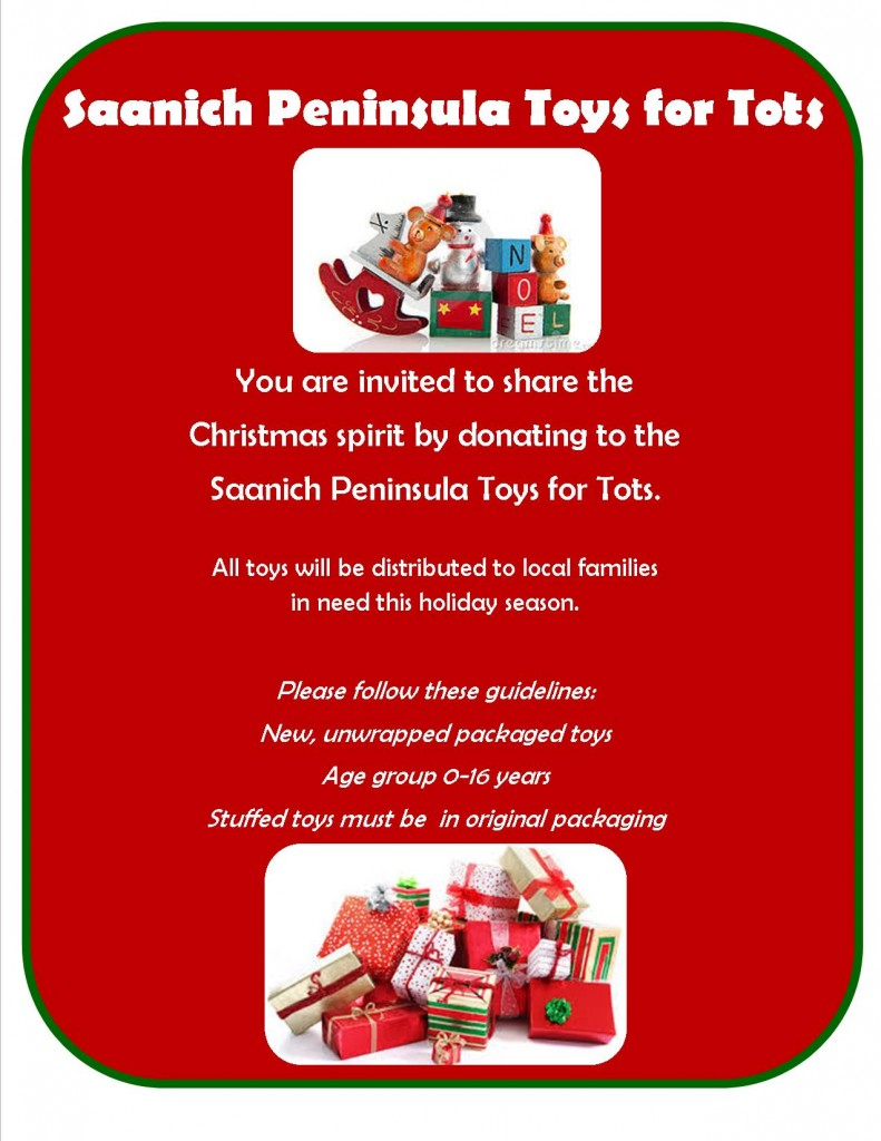 Toys For Tots Application Form : Saanich peninsula toys for tots van isle marina