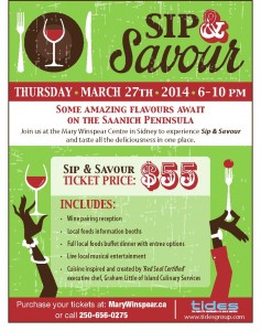 Sip and Savour poster