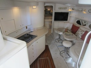 40' Sea Ray 400 Sundancer 1997 interior photo hi res
