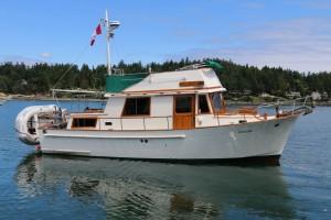 34' CHB Trawler 1982 Exterior