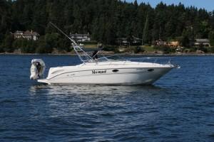 29' Sea Ray 290 Amberjack 2000 hi res exterior profile