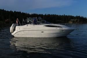 26' Bayliner 2655 Ciera 2000 - hi res exterior profile