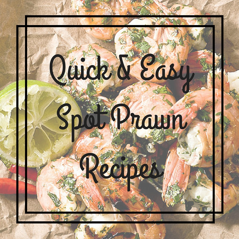 Quick & Easy Spot Prawn Recipes(1)