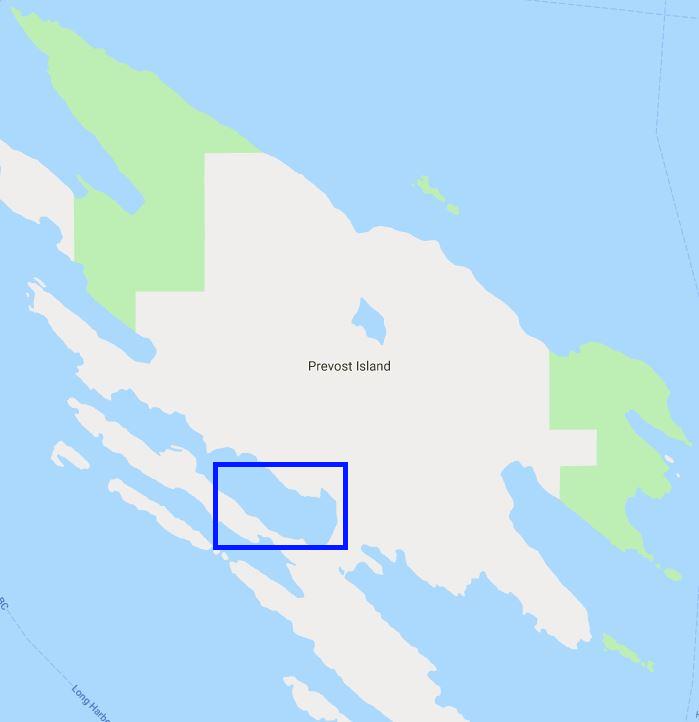 Annette Inlet Anchorage – Prevost Island