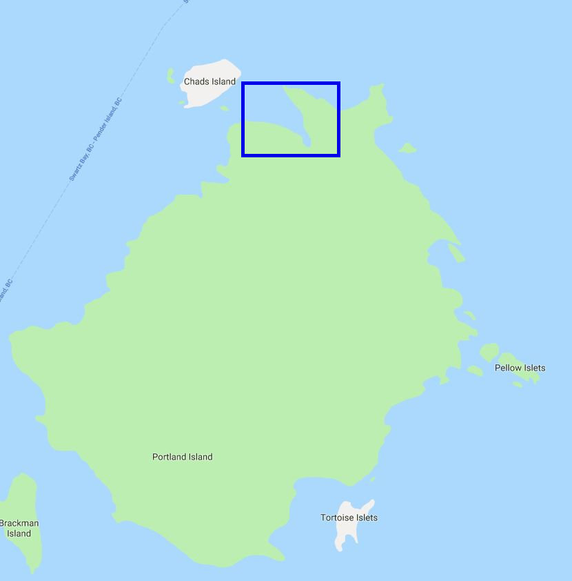 Royal Cove Anchorage – Portland Island