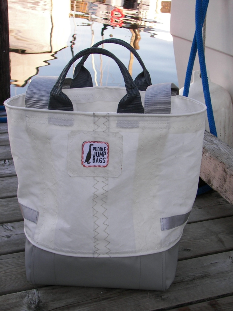 Christmas Gift Puddle Jump Bag Available at Van Isle Marina Fuel Dock