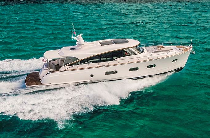 Miami International Boat Show Premiere - Belize 66 Sedan