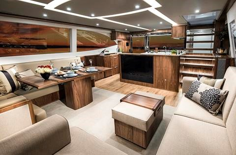 Miami International Boat Show Premiere - Riviera 72 Sports Yacht Salon