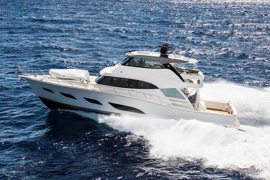 Miami International Boat Show Premiere - Riviera 72 Sports Motor Yacht.