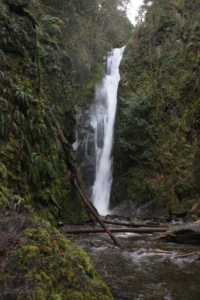 Goldstream Provincial Park Falls on Malahat north of Langford
