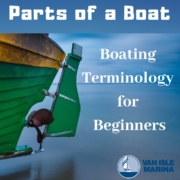 parts of a boat - boating terminology for beginners