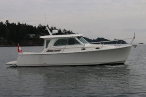 32 Back Cove at the BC Boat Show