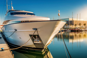 Docking - Van Isle Marina, Sidney, BC