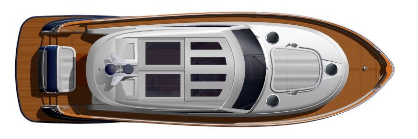Belize Motor Yacht - 54 Sedan Hardtop