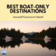 Boat Only Destinations Around Vancouver Island Canada