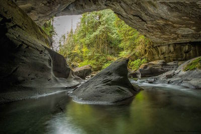 Vancouver Island - Huson Regional Park and Caves