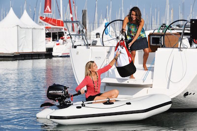 getting to and from your yacht's tender