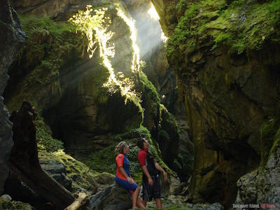 Vancouver Island's Nitnat caves
