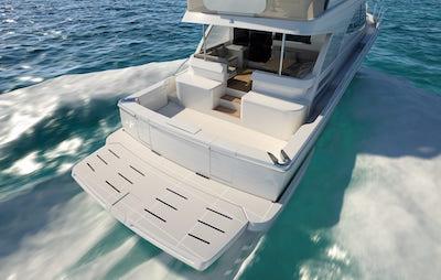 64 sports motor yacht
