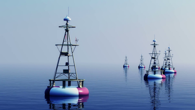 marine navigation - buoys