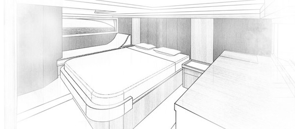 Riviera 505 SUV - master bedroom