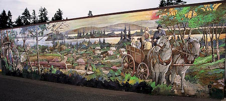 Tourist Attractions on Vancouver Island - Chemainus Murals