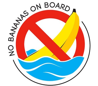 old boating superstitions - bringing bananas on board