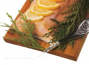 cedar plank salmon recipe