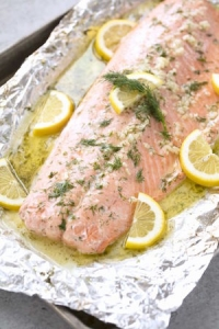 classic baked salmon recipe