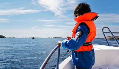 sailing around the world tips - life jacket