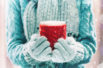 winter boating tips - bring lots of coffee