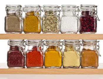 best foods to bring on your boat - spices