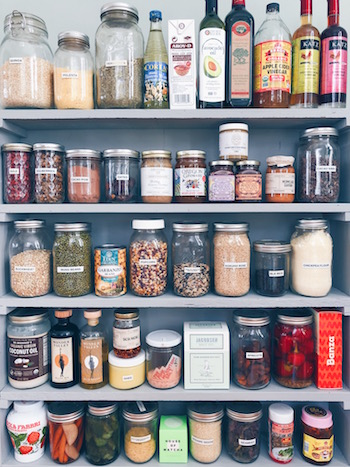 best foods to bring on your yacht - pantry stapes