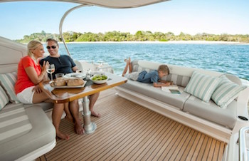 family boating trips - Relax