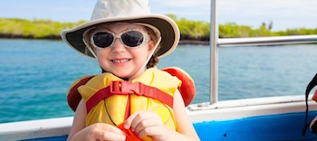 pack essentials when boating with family