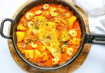 Best One Dish Meals - Spanish Fish Stew