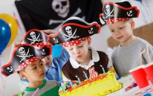 family boating activities - Pirate Party