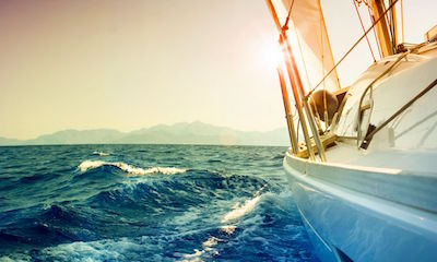 long boat trips - sailing around the world
