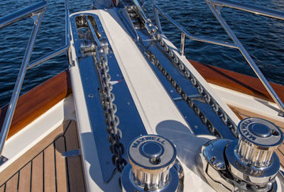 Boat terms and terminology - Windlass