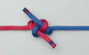 how to tie carrick bend knot