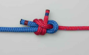 how to tie sheet bend knot