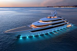superyachts and megayachts