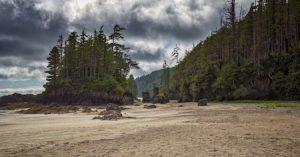 San Josef Bay, Vancouver Island, British Columbia, Canada