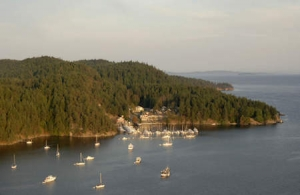 Vancouver Island Anchorages - British Columbia's Bedwell Harbour