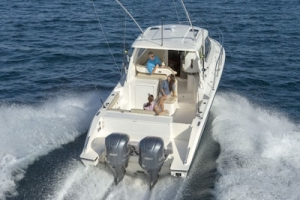 benefits of outboard engines - pursuit boats