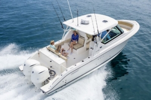 benefits of outboard motors - pursuit boats