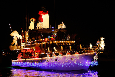 Spending Christmas Aboard Your Boat