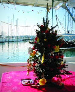Celebrating Christmas on board your boat
