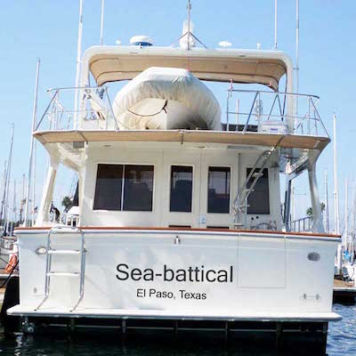 choosing a name for your yacht